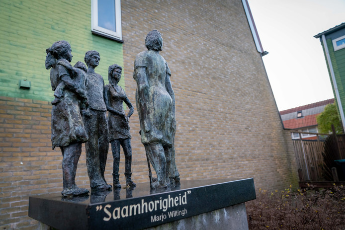 'Saamhorigheid' van Marjo Wiltingh in Gendt.