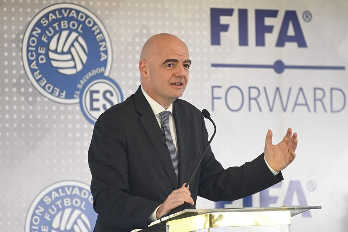 FIFA-voorzitter Gianni Infantino.