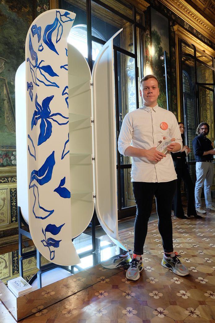Gijs Kuijpers op het Nederlands Paviljoen in Milaan