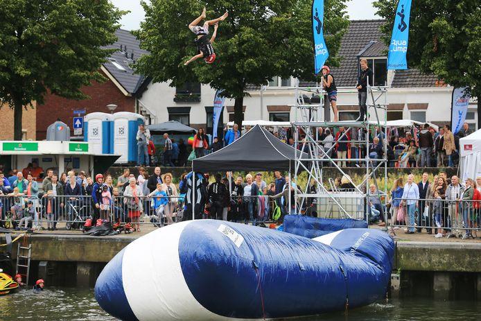 Archiefbeeld van Het Baggerfestival in Sliedrecht.