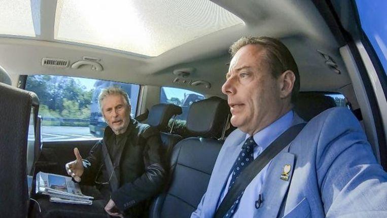 Paul Jambers en Bart De Wever (N-VA)