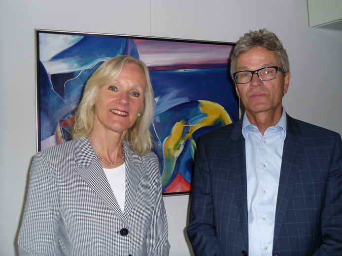 Thérèse van den Hurk en Marcel Duvigneau.