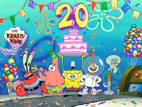 SpongeBob viert 20ste verjaardag: 20 totaal nutteloze feitjes over hem