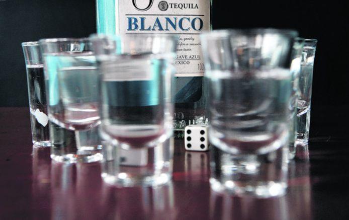 Tequila shotjes.