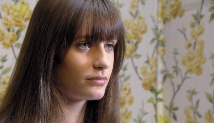 Fee van der Meijs in de tweede aflevering van Holland's Next Top Model