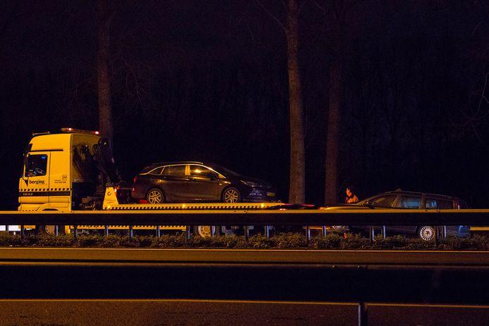 Ongeval op A2 bij Liempde