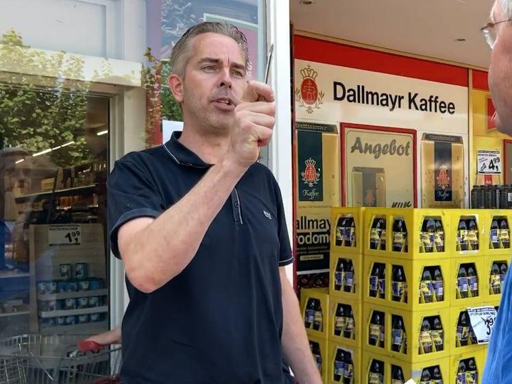 Supermarkteigenaar weigert dicht te gaan en gooit sluitingsbrief op straat