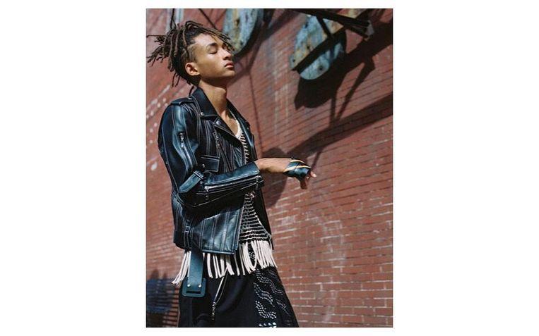 5. Jaden Smith als model voor Louis Vuitton. Beeld Bruce Webber