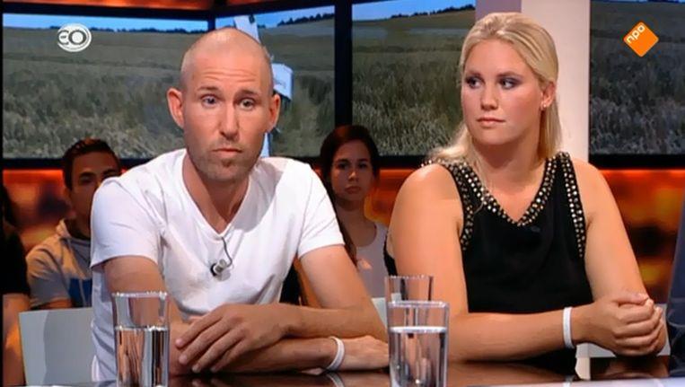 Nabestaanden in de uitzending van Knevel en Van den Brink. Beeld null
