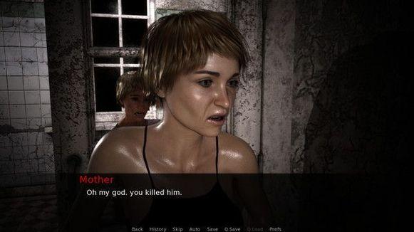 Een beeld uit 'Rape Day'.