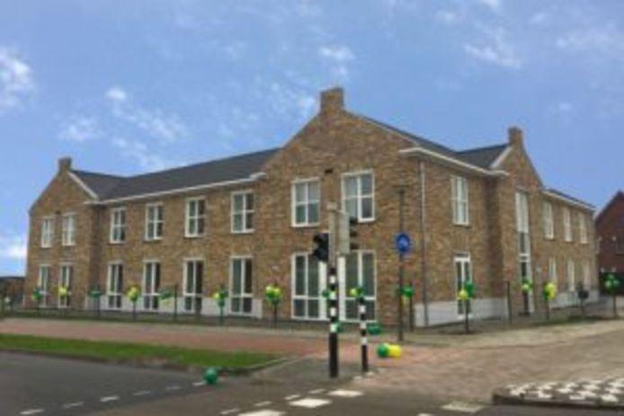 Het Markiezaathuis van Dagelijks Leven op de hoek Antwerpsestraatweg/Laan van Borgvliet in Bergen op Zoom in maart 2019
