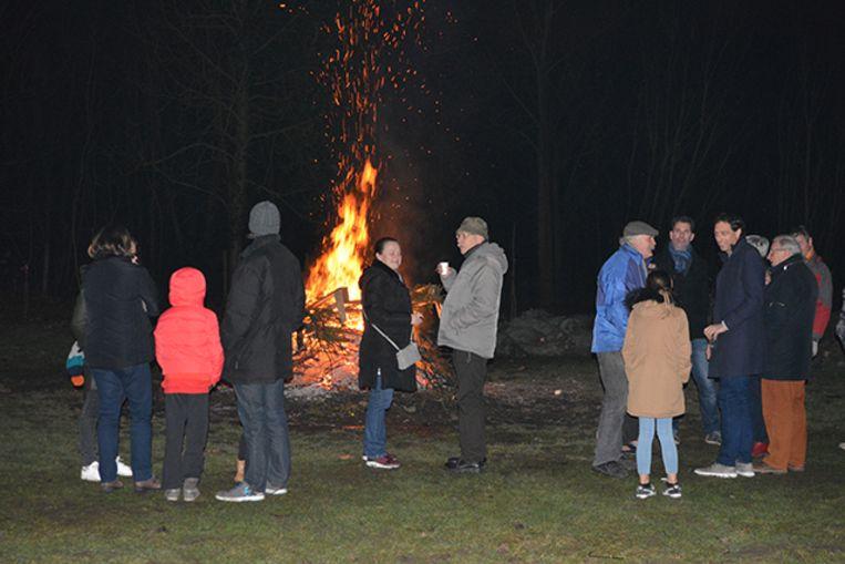 De kerstboomverbranding van vzw (W)armkracht mocht vorig jaar wél nog gewoon doorgaan.