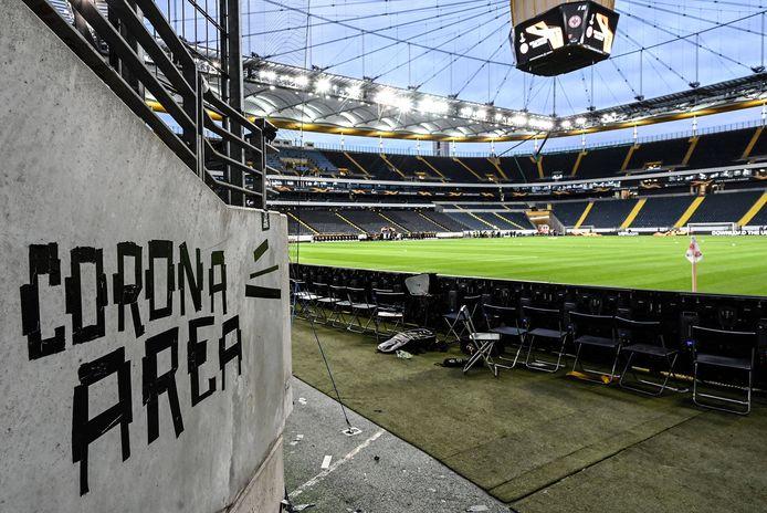 Het onderkomen van Eintracht Frankfurt.