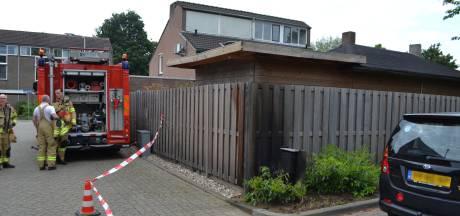 Knallen en steekvlammen in Huissen; 75 huishoudens zonder stroom na brand in verdeelkastje