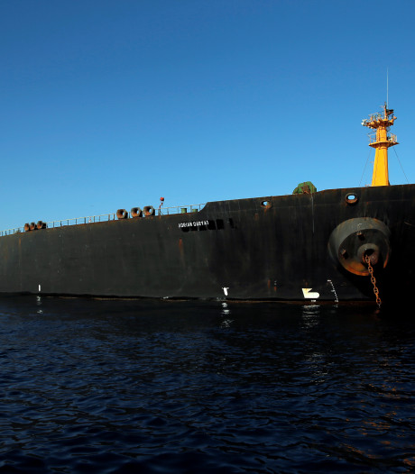 Gibraltar verwerpt verzoek VS en laat Iraanse olietanker Grace 1 gaan
