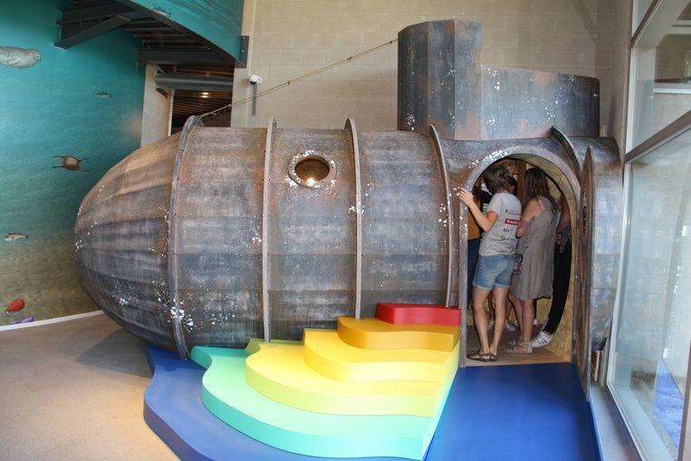 De duikboot is één van de pronkstukken