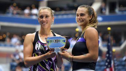 Triomf op US Open baat niet: Mertens en Sabalenka grijpen naast trofee van beste dubbelpaar van het jaar