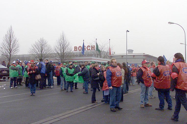 Bij Bosch zullen de poorten van het bedrijf woensdag toe blijven.