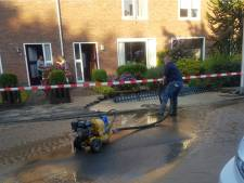 Waterleiding gesprongen in Liendert