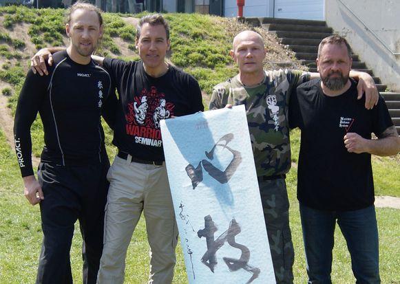 De jaarlijkse Ronin Combat-Day in De Borre.