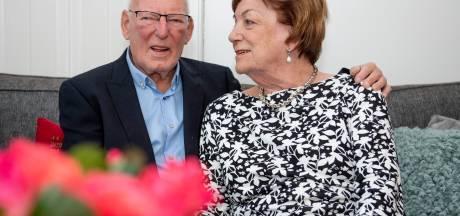 De liefde is in 60 jaar 'goed gegroeid' bij echtpaar uit Wierden