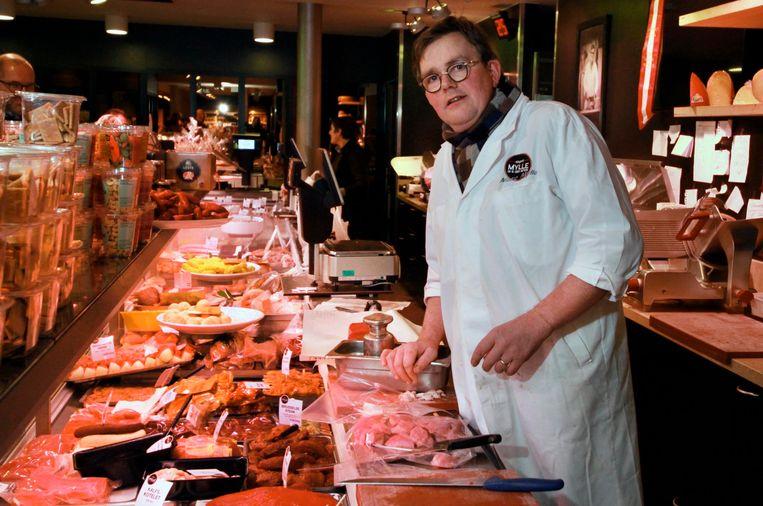 Marc Mylle in zijn slagerij