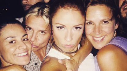Natalia, Nathalie en Tine vieren samen in Gambia