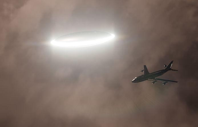 Meerdere piloten zagen een helder licht dat zich met hoge snelheid verplaatste. Foto ter illustratie.