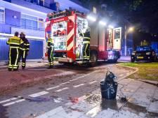 Accu veroorzaakt brand in Tilburgse flat, bewoner naar ziekenhuis