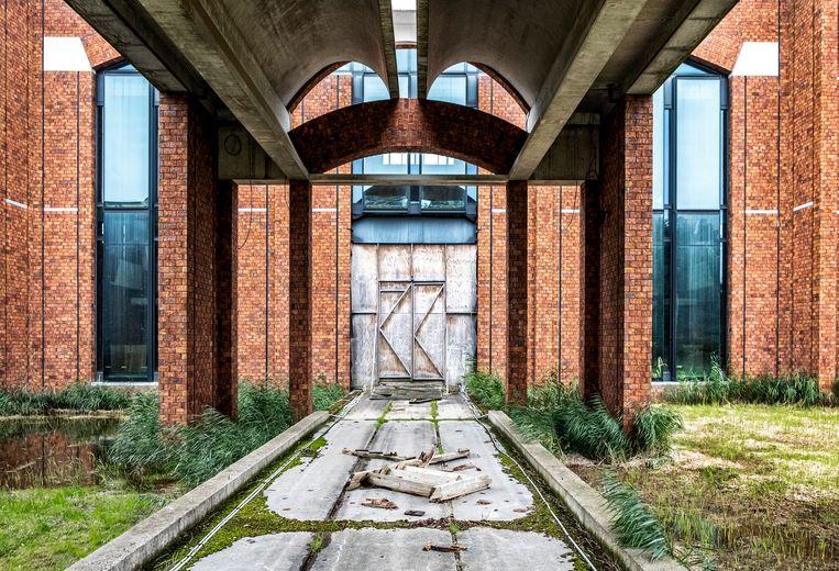 Exterieur van het onafgebouwde Scheringa Museum voor Realisme. Beeld Raymond Rutting / de Volkskrant