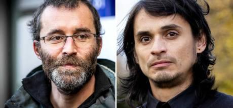 Utrechtse anti-piet-activisten Rogier Meijerink en Michael van Zeijl: 'Onze arrestatie was feitelijk een gijzeling'