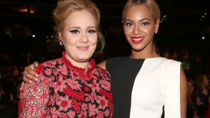 """Dan toch geen samenwerking tussen Beyoncé en Adele: """"Het was een grapje"""""""