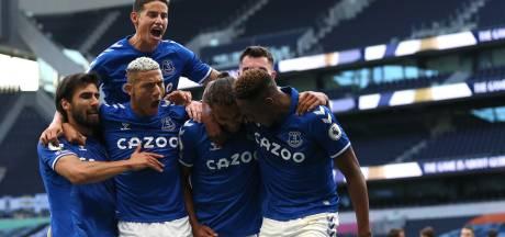 Everton begint seizoen met zege bij Spurs door kopgoal Calvert-Lewin