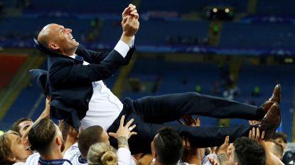 """De balans van Zinédine Zidane na 200 wedstrijden als trainer van Real Madrid: """"Hij is eigenlijk... Geniaal"""""""