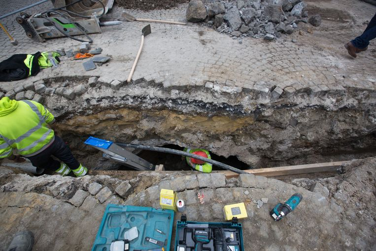 Er werden schuilkelders gevonden in Sint-Truiden.