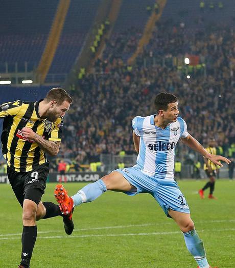 Vitesse ondanks gelijkspel bij Lazio uitgeschakeld in EL