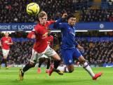 Chelsea komt niet tot scoren tegen Manchester United
