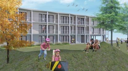 Melkerijstraat krijgt tegen voorjaar 2023 nieuwe sociale woonsite: 20 appartementen en acht studio's