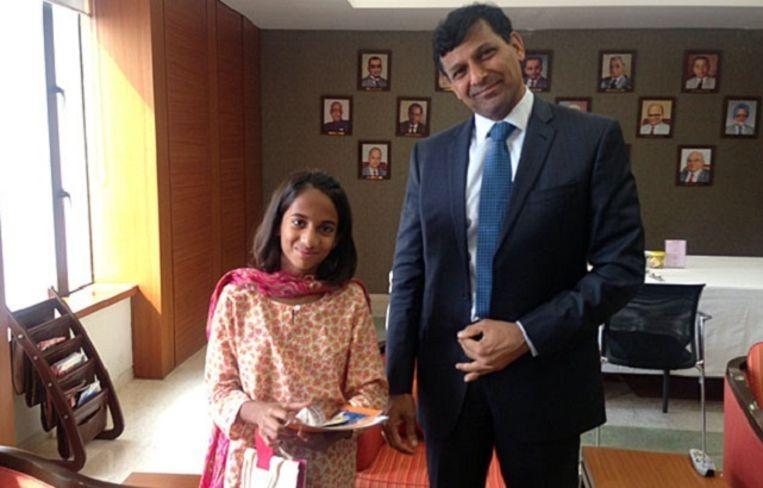 Laila met de gouverneur