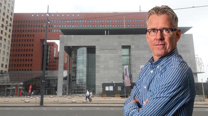 Sander Sonnemans voor de Rotterdamse rechtbank.