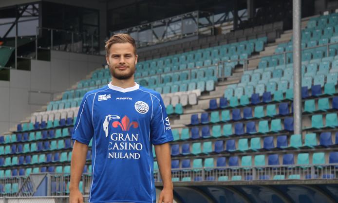 Rauno Sappinen droeg maandag voor het eerst het shirt van FC Den Bosch.