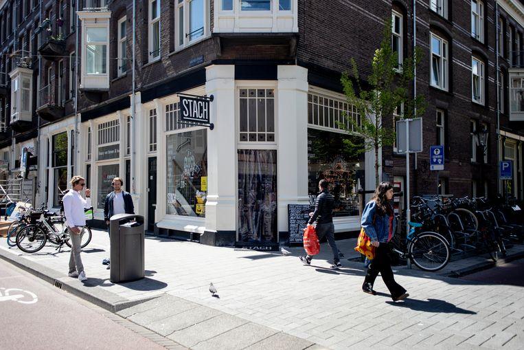 De allereerste Stach opende eind 2011 in de Van Woustraat. Beeld Lin Woldendorp