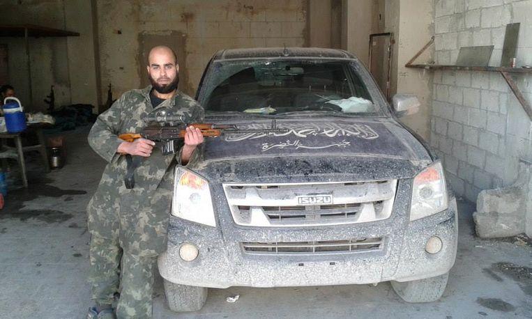 De Brusselse Syriëstrijder Yassine Lachiri.