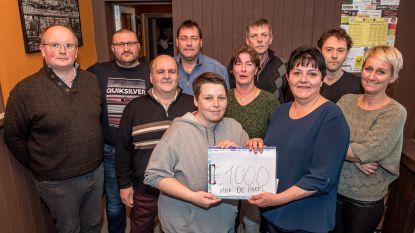 Lichtjesshow levert 1.000 euro op voor BuBaO De Parel