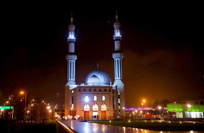 De Essalam Moskee in Rotterdam.