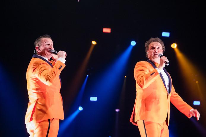 Het Feestteam tijdens het Grootste feestcafé van Nederland in de Ziggo Dome.