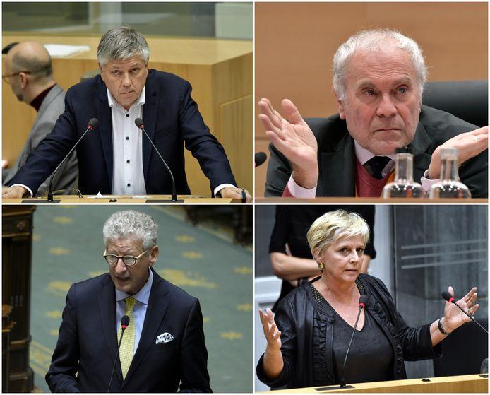 Jo Vandeurzen, Eric Van Rompuy, Pieter De Crem en Sonja Claes kondigden alle vier al aan dat ze hun uittredingsvergoeding zouden opnemen.