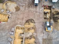Kijkje onder het plein in Berghem: archeologisch onderzoek