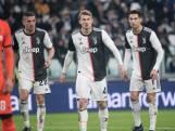 De Ligt valt in bij winnend Juventus