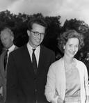 Le roi BAUDOUIN Ier et sa fiancée, la future reine Fabiola (1960)